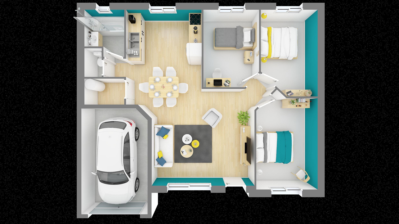 Plan De Maison Origan Plan Maison 3d Maison 3d Plan Maison